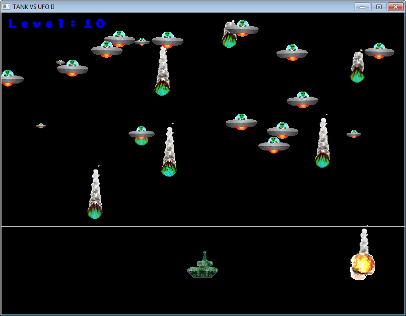 TVU II Game Play Screen