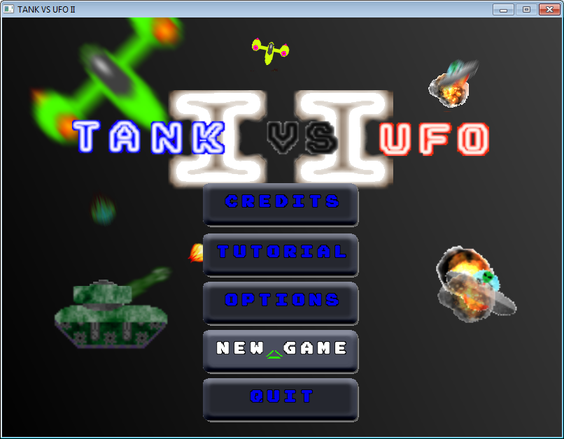 TVU II Menu Screen